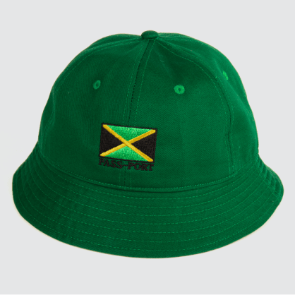 Passport Skateboards - Jamaica Twill Bucket Hat (Green)