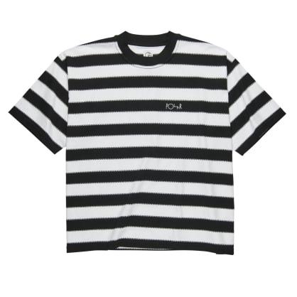 Polar Skate Co Checkered Surf T-Shirt - Black/White