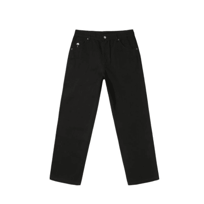 Hélas Poppins Denim Pant - Black