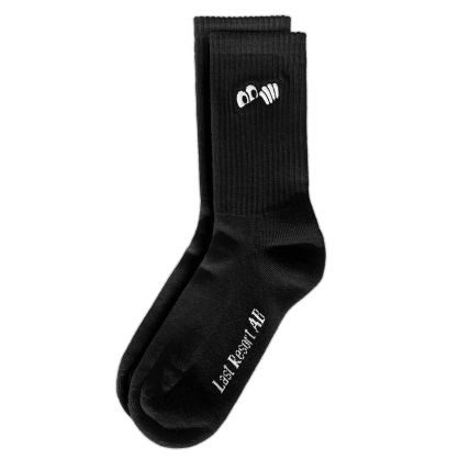 Last Resort AB Eyes Socks (Black)
