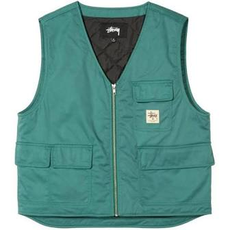 Stussy Insulated Work Vest Teal