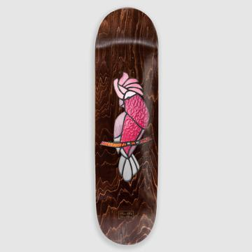 Pass~Port Stained Glass Galah Deck 8.25""