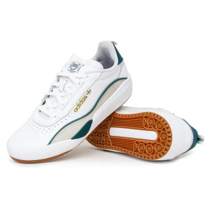 Adidas Liberty Cup Shoes - FTW White/Green/Brown
