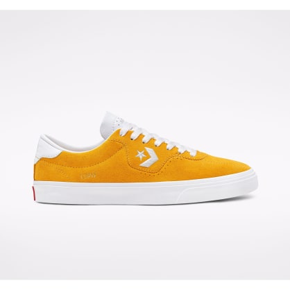 Converse Cons Louie Lopez Pro Skate Shoes - Gold / Enamel Red