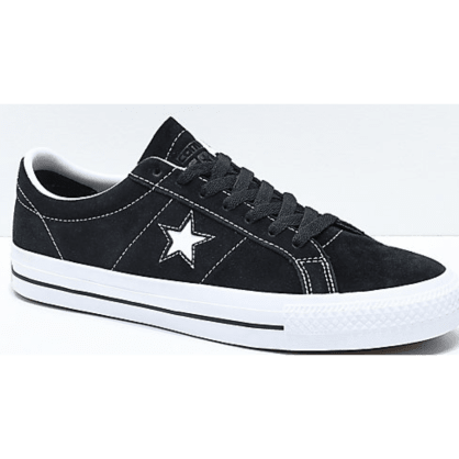Converse - One Star Pro Black & White Suede