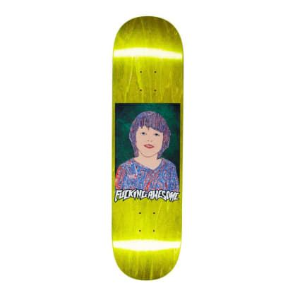 """Fucking Awesome Painted Sean Skateboard Deck - 8.25"""""""