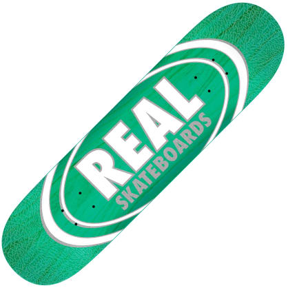 "Real Oval Patterns Team series deck (8.38"")"