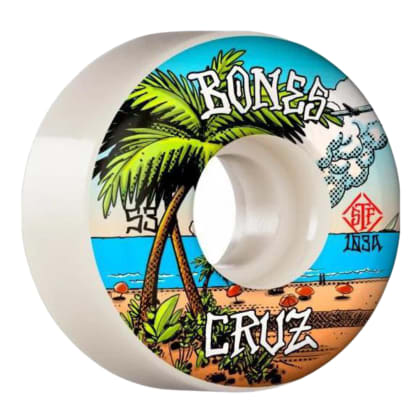 Bones Cruz Buena Vida Wheels V2 Locks STF 103a 53mm