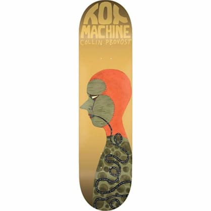 Toy Machine Collin Provost Faces Skateboard Deck - 8.5