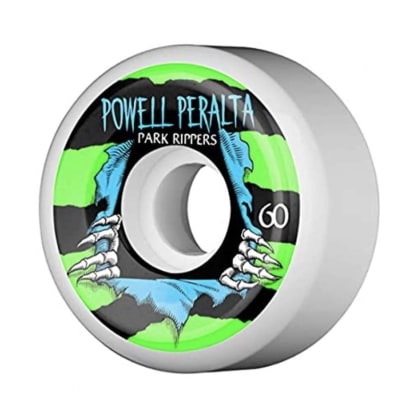 Powell Peralta Park Formula Ripper 2 White 60mm