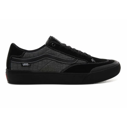 Vans Croc Berle Pro Skate Shoes - Black/Pewter
