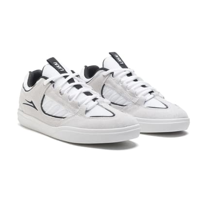 Lake Mike Carroll Shoe - White / Black Suede