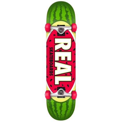 """Real Oval Watermelon Complete Skateboard - 7.75"""""""