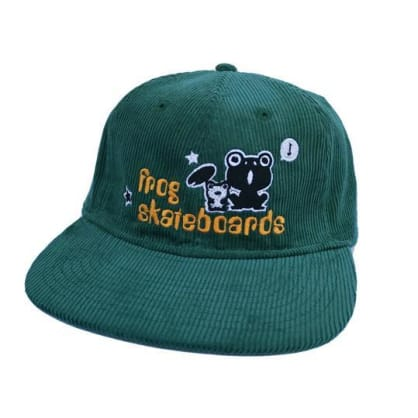 Frog Skateboards Corduroy Hat - Green