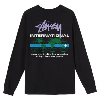 Stüssy - International LS T-Shirt