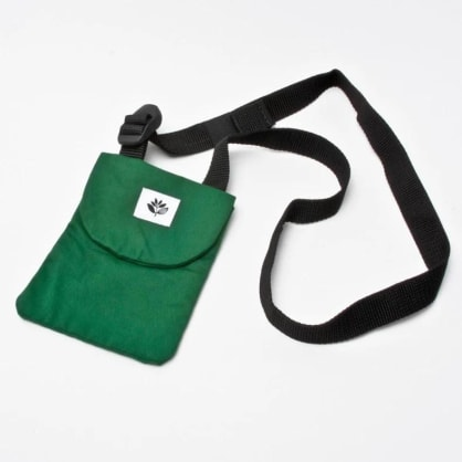 Magenta Pouch Bag (Green)