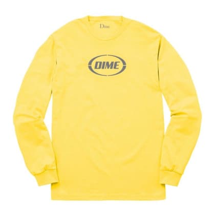Dime Fast Long Sleeve T-Shirt - Yellow