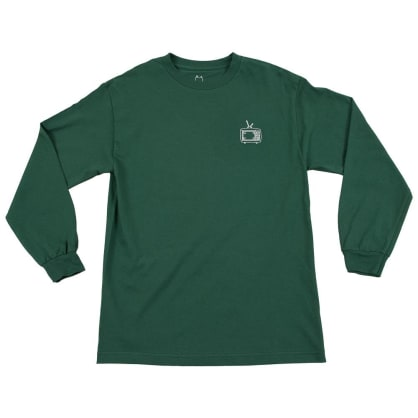WKND TV L-S T-Shirt - Forest Green
