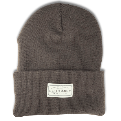 No-Comply Locally Grown Beanie Brown