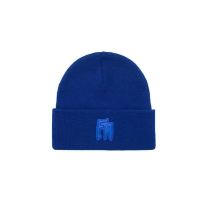 Fucking Awesome FA Applique Cuff Beanie - Royal