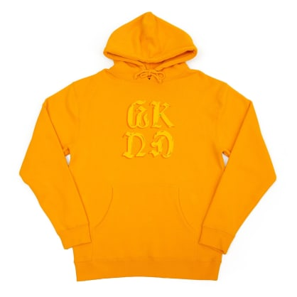 "WKND- ""CHROME ON HOODIE"" (GOLD)"