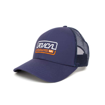 RVCA Factory Trucker Cap - Navy