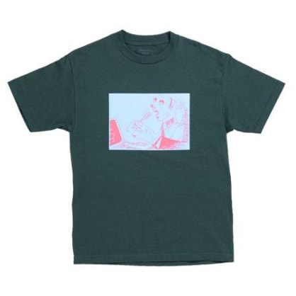 QUASI SPOON T-SHIRT - FOREST