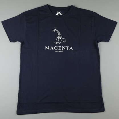 Magenta '10 Year Collection - Depuis' T-Shirt (Navy)