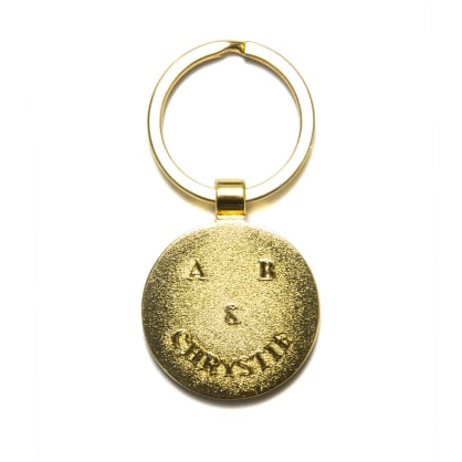 Chrystie NYC - A&B Chrystie smile logo key chain