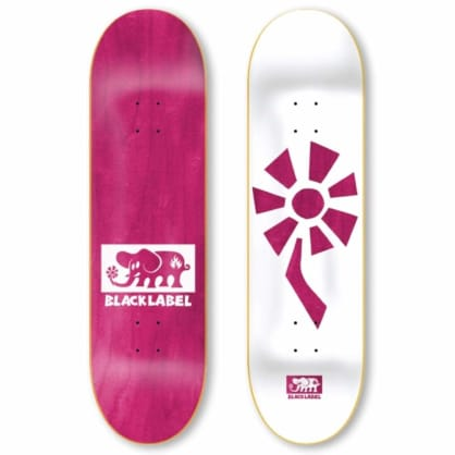 Black Label Flower Power Pink Deck (8.25)