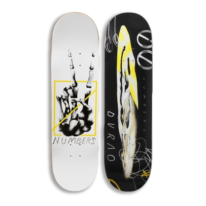 """Numbers - Durao Edition 6 Debut Deck - 8.375"""""""