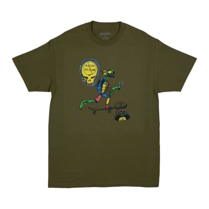 GX1000 No Micro Dose T-Shirt - Military Green