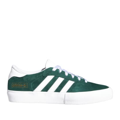 adidas Skateboarding Matchbreak Super Shoes - Collegiate Green / FTWR White / Gold Met