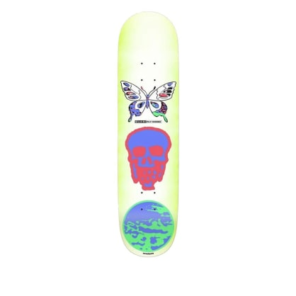 Quasi Crockett Mode Skateboard Deck - 8.5""