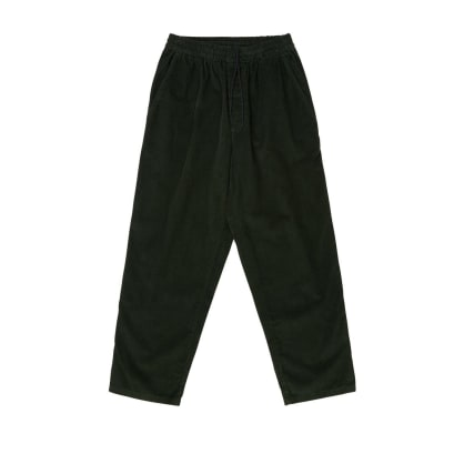 Polar Skate Co Cord Surf Pants Dark Olive