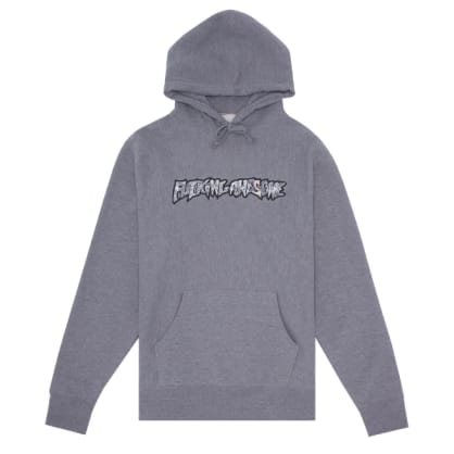 Fucking Awesome - Fucking Awesome Actual Visual Guidance Hoodie   Heather Grey