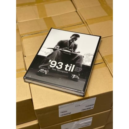 '93 til - '93 til Book by Pete Thompson - A Photographic Journey Through Skateboarding in the 1990s