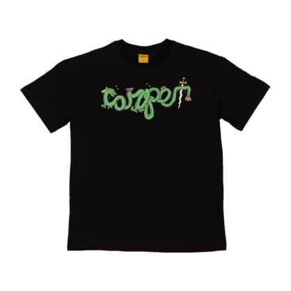 Carpet - Dragon Tee Black L