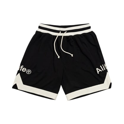 Alife - Basketball Shorts - Black / Cream