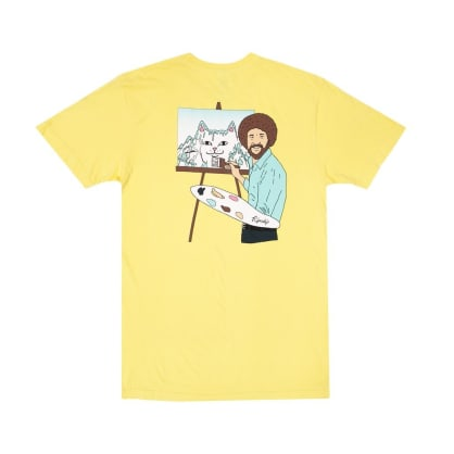 Rip N Dip - Rip N Dip Beautiful Mountain T-Shirt | Banana Yellow