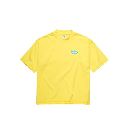 Polar Skate Co Station Logo Surf T-Shirt - Yellow