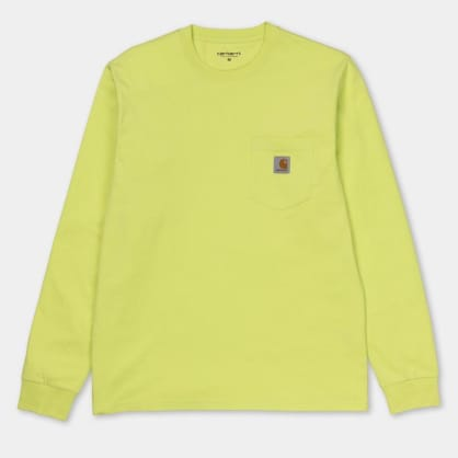 Carhartt WIP Long-Sleeve Pocket Shirt Lime