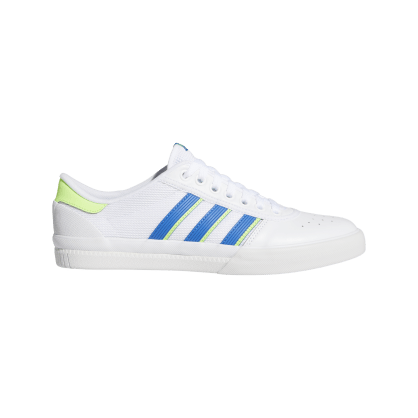 adidas Lucas Premiere ADV Skate Shoes - FTWR White / Glory Blue / Signal Green