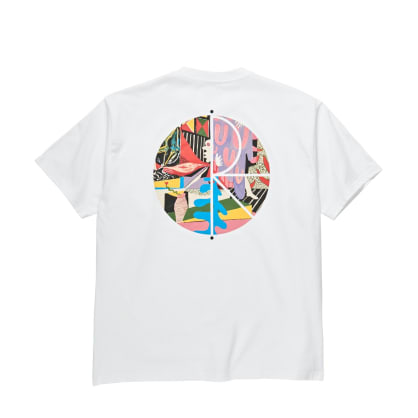 Polar TK Fill Logo Tee - White