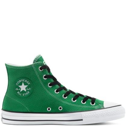 Converse CONS CTAS Pro Hi Shoes - Green / Black / White