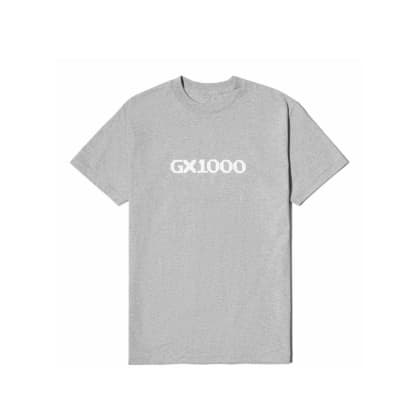 GX1000 OG Logo T-Shirt - Heather Grey