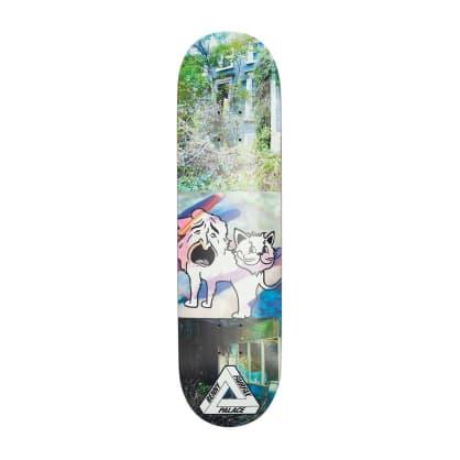 """Palace Skateboards Fairfax S18 8.06"""" Skateboard Deck"""