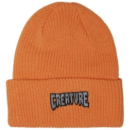 Creature - Logo Outline Orange Beanie