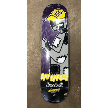 Krooked Barbee Redux Skateboard Deck 8.25