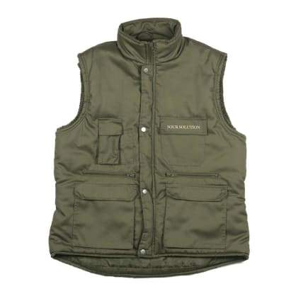 SOUR CITY SAFARI VEST - GREEN